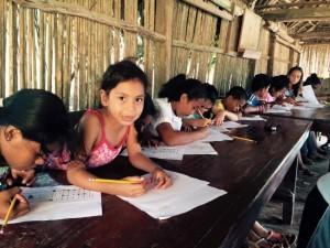 Honduras-English class