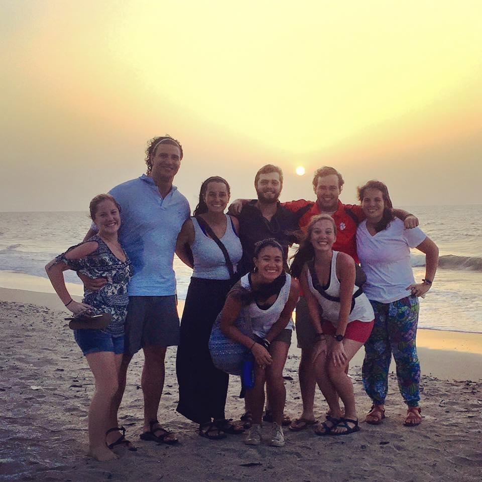 Team Dinner- Beach Photo